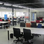 Ambiente esperando start-ups