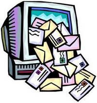 muitos emails